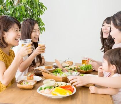 取り外しが簡単だから普段どおり食事を楽しめる